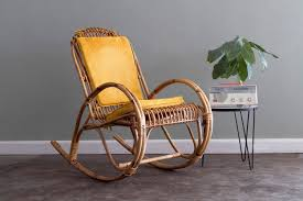 Franco Albini Whicker Rattan Rocking Chair Via Etsy. | Decor Details ...