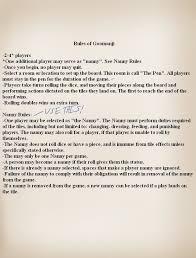 Goomanji Rules By TamaeFTT