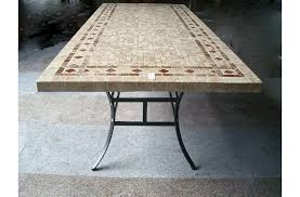 tile top patio dining table room on for ceramic 6 narcisperich