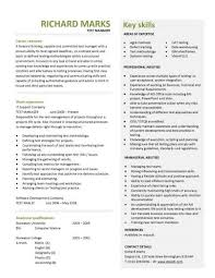 Best Professional Resume Template Cv Writing Templates At Samples