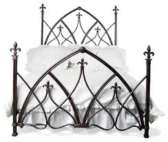 custom gothic night bed panel beds by one hudson road