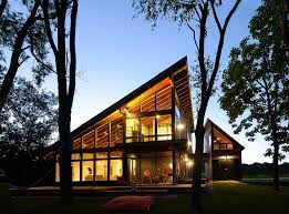 The Mountain View House Plans by Cool Lake Home Designed To Enjoy The Views And Create House