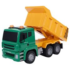 Radio Remote Control Construction Dump Truck Racing Cars RC Games ...