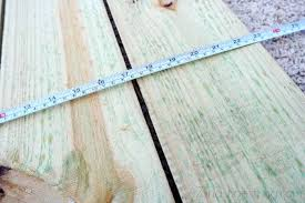 Lay The Four Fence Pickets Flat Onto Your Work Surface Equal Distances Apart