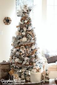 Snow Flocked Slim Christmas Tree by Create Your Very Own Winter Wonderland This Holiday Season With A