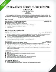 Resume Objective Examples Administrative Assistant Position Sample Genius Office Clerk Entry Level