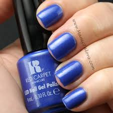 Red Carpet Manicure Led Light by Manic Talons Gel Polish And Nail Art Blog Red Carpet Manicure