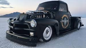 Check Out This 1954 Chevy 3100 Truck With A Quad-Turbocharged ... 1954 Chevrolet Panel Truck For Sale Classiccarscom Cc910526 210 Sedan Green Classic 4 Door Chevy 1980 Trucks Laserdisc Youtube Videos Pinterest Scotts Hotrods 4854 Chevygmc Bolton Ifs Sctshotrods Intertional Harvester Pickup Classics On Cabover Is The Ultimate In Living Quarters Hot Rod Network 3100 Cc896558 For Best Resource Cc945500 Betty 4954 Axle Lowering A 49 Restoring
