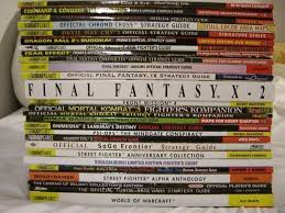 Older Strategy Guides Are Often Examples Of Well Crafted Additions To Games That Should Be Just As Sought Out And Collected The They Represent