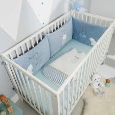 tour de lit bebe garon pas cher tour de lit ours blanc bébé garçon gris bleu kiabi 25 00