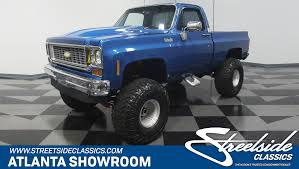 1973 Chevrolet K-10 | Streetside Classics - The Nation's Trusted ... 1971 Chevy C10 Trucks Beautiful Of 70s Truck Trends Models Types Intertional Harvester Pickup Classics For Sale On And Suvs Are Booming In The Classic Market Thanks To Cars For In Raleigh Nc New Car 2019 20 The Classic Buyers Guide Drive Starting A Registry Bb Trucks 1947 Present Chevrolet A Brief History Of Blazer Roadshow 1970 Stepside Wolf Sheeps Clothing 20 Old Pickups Collectors Need To Buy Before They Cost 1 Million Why Vintage Ford Pickup Hottest New Luxury Item