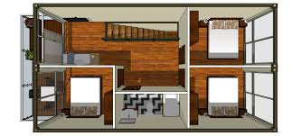 100 Shipping Container House Floor Plans Shipping Container House 4x 40ft Three Bedrooms CONTAINER