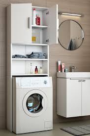 waschmaschinenschrank weiß badregal hochschrank