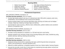 Cna Resume No Experience From Templates For Nurses And Samples Regarding Sample