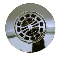 Bathroom Drain Hair Stopper Walmart by Hair Catcher Shower Drain Cover In Chrome Danco