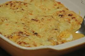 gratin de pâtes au chorizo et au poivron dans la cuisine de fabienne