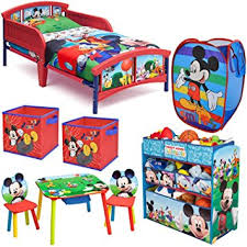 amazon com disney delta children mickey mouse clubhouse 8 piece