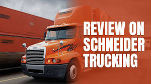 100 Trucking Company Reviews Review On Schneider YouTube