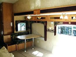 Travel Trailer Couch Old Interior Sofa Bed Mattress