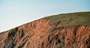 Harold Standing At The Cliff Edge Looking Down To Crashed Vehicle Somehow He Got Out In Time Wickedly Feigning His Suicide Just As Did Several