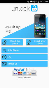 Unlock your ZTE phone screenshot