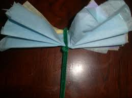 How To Make A Tissue Paper Flower Arts Crafts Projects For Kids