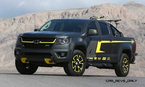100 Concept Trucks 2014 2015 Chevrolet Colorado Motocross By By Ricky Carmichael