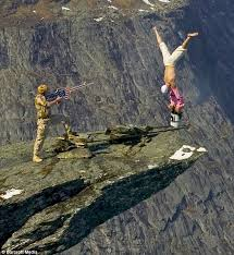 Eskil Does A Handstand On The Very Edge Of Sheer Cliff Part