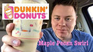 Dunkin Donuts Pumpkin Spice Latte 2017 by Maple Pecan Swirl Dunkin Donuts Iced Coffee Taste Review Youtube