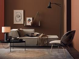 wohnzimmer in braun bild 10 schöner wohnen