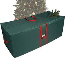 Heavy Duty Waterproof Holiday Tree Storage Bag Wreath Christmas Decoration Accessories Tote Case
