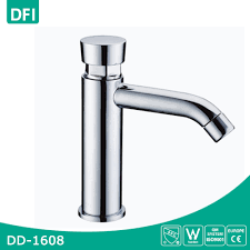 Water Faucet Aerator Assembly Process by Copper Push Button Tap Water Basin Sanitary Water Faucet Buy