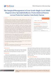 si e orthop ique perioperative complications of primary pdf available