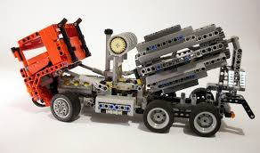 100 Lego Cement Truck LEGO MOC2405 Mixer Technic 2015 Rebrickable Build With