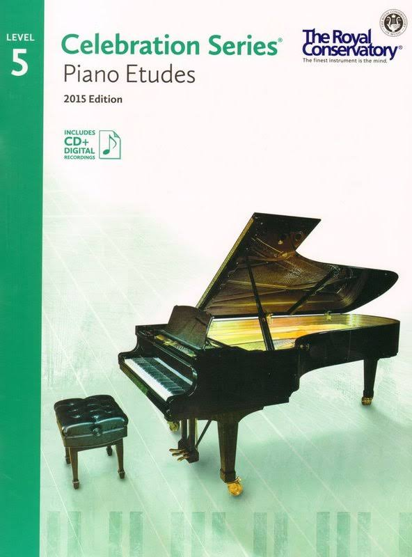 Celebration Series: Piano Etudes: Level 5 - Royal Conservatory