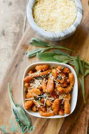 Pumpkin Gnocchi Recipe by Homemade Pumpkin Pasta And The Taste Creations Blog Hop For