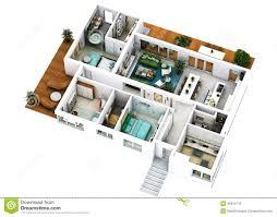 plan villa moderne de luxe 3d maison moderne