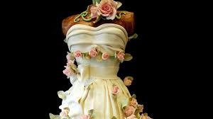 Sweet 16 Party Dress Cake by Pink Cake Box