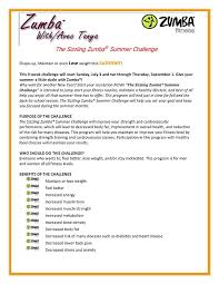 Fitness Instructor Resume Simple Sample Zumba Examples Pinterest