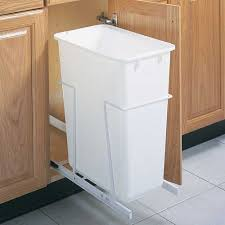 Under Cabinet Trash Can Pull Out by Pull Out Cabinet Trash Can 50 Quart In Cabinet Trash Cans