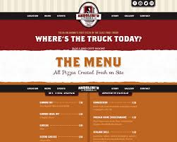 Andolini's Pizzeria Food Truck | CSS Gallery, Free Wordpress Themes ... Example 8 Food Truck Website Template Godaddy Qsr Magazine Features Kona Dog Franchise 7 Websites On The Road To Success Plus Your Chance Win Big Best Wordpress Themes 2016 Thememunk At G Building Lakeshore Humber Communiqu Foodtruck Pro Tip Strive For That Perfect Attendance Award Be Website Design Behance Find Bangkok Trucks Daily Locations On Their New Our Inspirational Simple Math Rasta Rita Is Beautify Created Creative Restaurant Theme