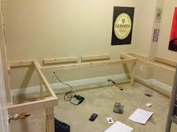 Diy Wood Computer Desk by Diy Floating Desk L Shape Re Show Your Diy Ideas And Projects