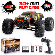 100 Monster Trucks Rc Amazoncom 110 Scale Large Remote Control Car 48kmh Speed Boys