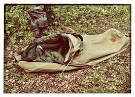 Cowboy Bed Roll by The New Canvas Bedroll In Open Mode Tents And Sleeping