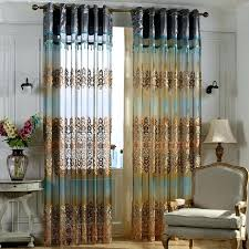 Blue Curtains For Living Room Teal