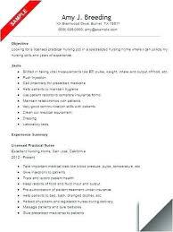 Lpn Resume Sample Examples Resumes