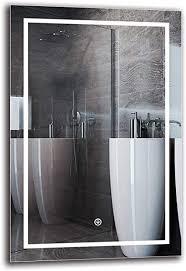 arttor badspiegel mit beleuchtung bad dekoration wandspiegel groß und spiegel klein mit led licht unterschiedliche lichtanordnung und alle