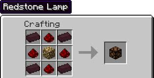 Change The Redstone Lamp Recipe