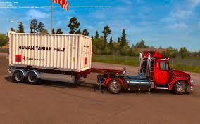 HUMANITARIAN HELP 20FT 1.21.X | ETS2 Mods | Euro Truck Simulator 2 ...