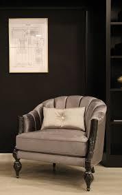 casa padrino luxus barock sessel grau schwarz silber 83 x 85 x h 85 cm wohnzimmer sessel mit edlem samtstoff barock möbel